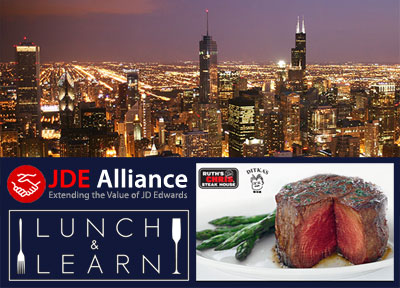 Jde alliance lunch learn oakbrook terrace arctools for 2 mid america plaza oakbrook terrace